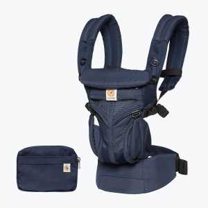 ERGOBABY Omni 360° Babytrage Cool Air Midnight Blue