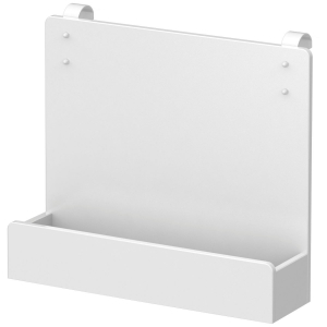 FLEXA White MDF Buchregal