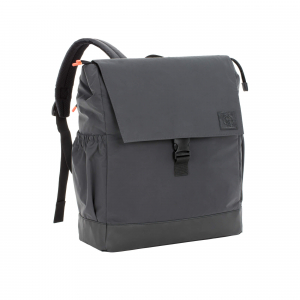 "LÄSSIG Wickelrucksack ""Little One & Me Backpack reflective Big"" Black"