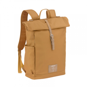 "LÄSSIG Wickelrucksack ""Rolltop Backpack"" Curry"